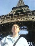 Me at the eiffel tower.