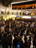 Chaos at Liverpool Street tonight
