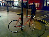 Fixie on the streets of London
