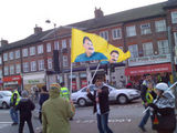 Anti-Turkey, pro-moustache rally, Green Lanes