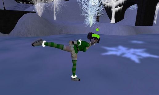 Scenes from Grinchskate.