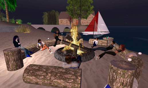 VA58:Fireside at Scilly.