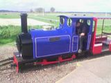 Mini steam train