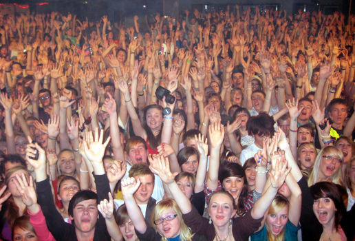 Norwich Crowd Photos