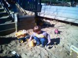 Sandcastles at the park