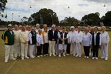 Monday; Guvna's visit to the Bassendean Bowls Club