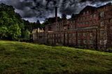 Quarry Bank Mill From The Meadow.