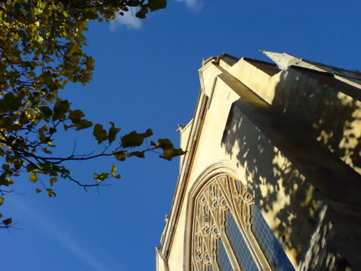 Autumnal Southwark cathedral
