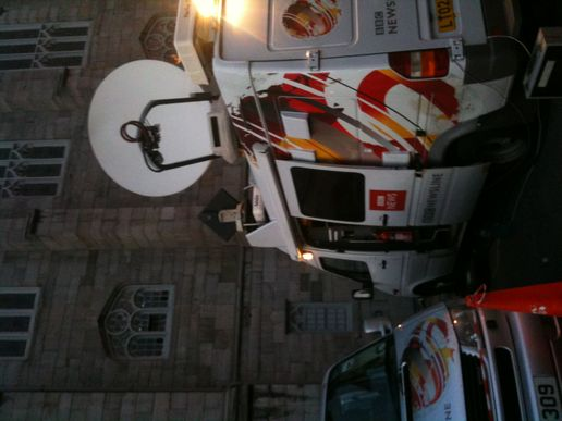 BBC at Dublin Castle for presidential election
