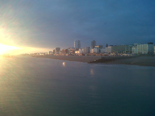 Brighton sundown