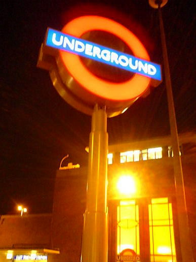 Our new tube sign