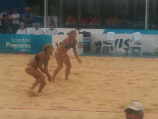 The Tall One and the Chunky One (GB Beach Volleyball)
