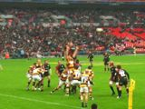 Line Out - Sarries vs Wasps