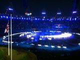 NHS spotlighted #London2012 Opening Ceremony Dress Rehearsal