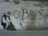 Oi Banksy up yours!