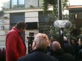 Unveiling of Ziggy Stardust plaque