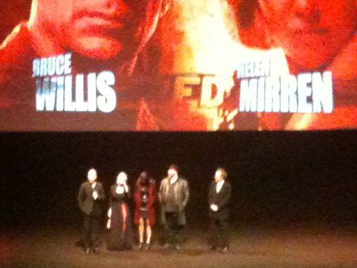 Warren Ellis, Bruce Willis, Helen Mirren, Mary-Louise Parker