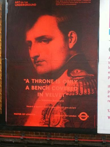 What is the city but the people? (Jeremy Deller for Art on the Underground)
