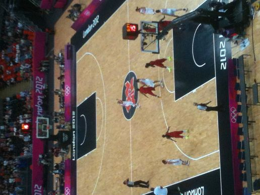 Women's Basketball Angola V Turkey #London2012