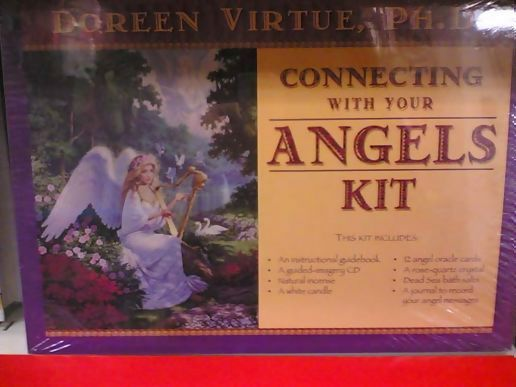 includes angel communication cd angel cards guidebook and journal
