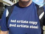 bad artists copy good artists steal