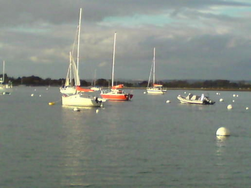Postcard from Chichester Harbour