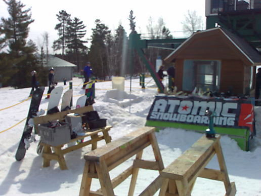 2009 atomic snowboard demo