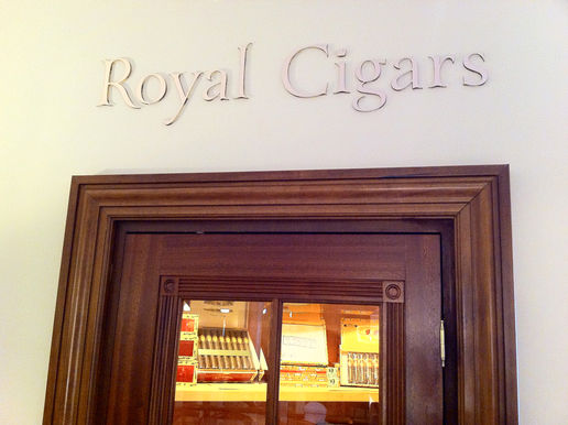Stella has her own cigar shop now