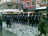 The Royal Guard Parade in Copenhagen