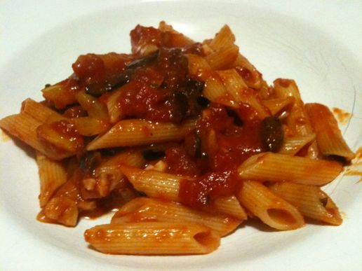 Rich thick pasta sauce