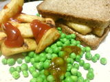 Healthy chip butty option