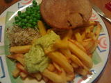 PCP (pie, chips and peas)