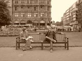 edinburgh life in sepia