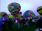 Getting ready for the balloon glow!