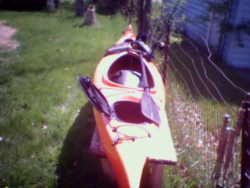 Time to get the kayak out,.