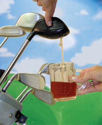 Drinks Golf caddy