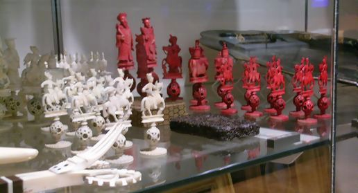 better shot of those chess pieces.
