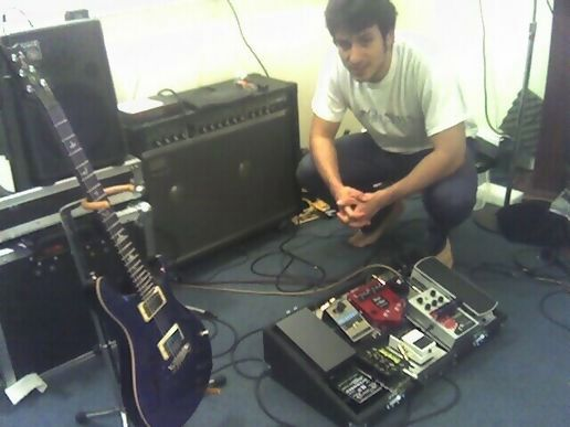 Chris and the gear.
