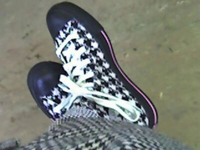 Houndstooth. On *everything*... :D