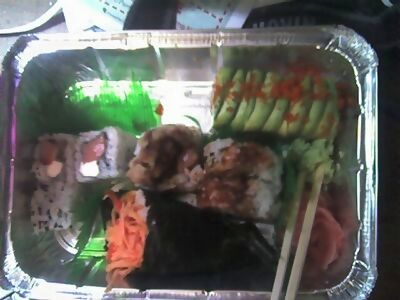 I love NY.  For I can have sushi, delivered to my door, on Easter.  This rules.
