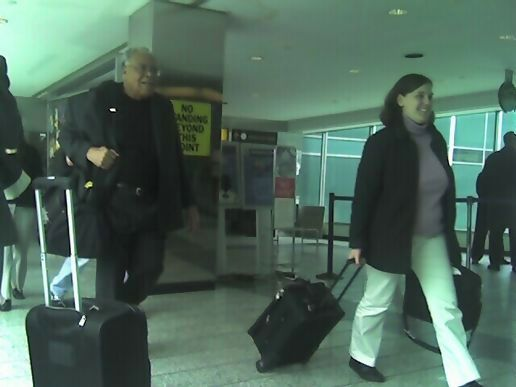James Earl jones just walked by.  No, *seriously*.  Look.