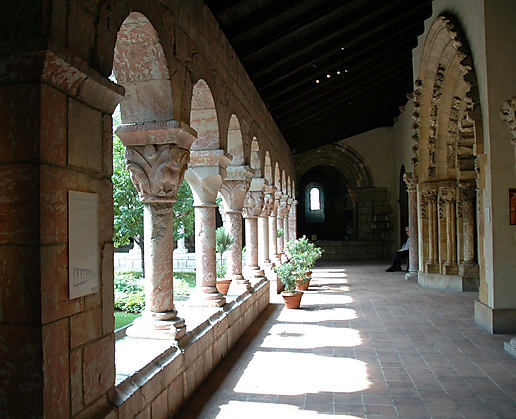 Lots of columns to photograph at The Cloisters.