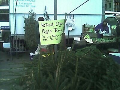 Pagan trees.  How do they know?