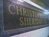 Christopher St./Sheridan Sq. 1 train station.