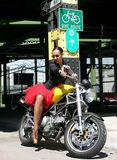 Shauna and the Ducati (2 of 2)