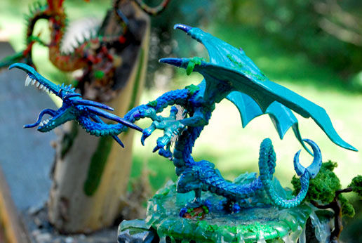 Two Dragons with Terrain