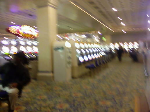Blurry casino...