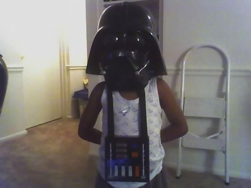 Darth Vader's early years.