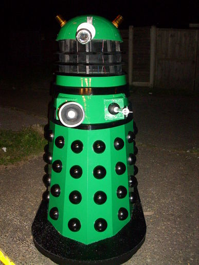 "The Build Diaries, ""The Daleks Big Greenie"" Part 2"