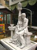 lovely sculptures of lovers